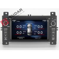 Quality Jeep Grand Cherokee Dvd Player , Double Din Car Stereo With Gps And Bluetooth wholesale
