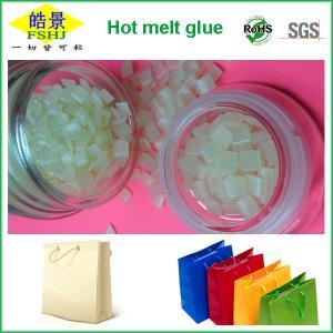 Quality Hot Melt Adhesive Granule For Handbag Bottom Sealing , Light Yellow Glue Excellent Adhesion wholesale