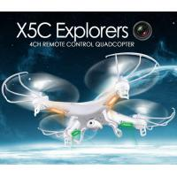 Quality X5C 2.4GHz 4CH 6-Axis GYRO RC Quadcopter Drone Toy 2MP Fly Camera Recorder 360° Eversion wholesale
