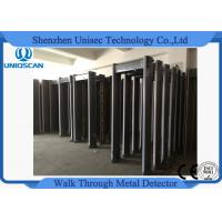 Quality Gray Pass Through Metal Detector , Multi Zone Metal Detector IP65 Protection  wholesale