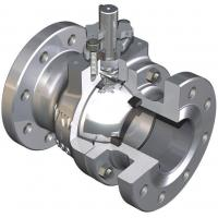 China Fire Tested Design Trunnion Mounted Ball Valve Reduces Torque Deep Recessed Seats TFE Body Seal on sale
