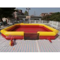 Quality Inflatable Bumper Ball Court , Bumper Ball Field With Commerical Grade PVC Tarpaulin wholesale