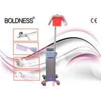 Quality Low Level Therapy Laser Hair Growth Machines 650nm With Ozone High Frequency Comb wholesale