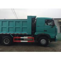 Quality SINOTRUK HOWO A7 Construction Tipper Dump Truck 6 X 4 290HP In Blue Color wholesale