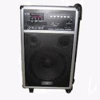 China 60dB 10'' Mobile Portable PA Sound Systems With Wireless Microphone and CD player on sale
