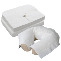 China Fitted U Shape SMS 80*200cm Disposable Face Cradle Cover on sale