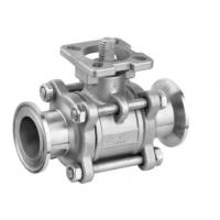 Stainless Steel Ball Valve ISO Mounting Pad Full Bore Antistatic Design