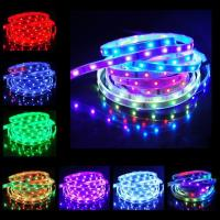 Quality 5 Meter Low Voltage RGB Led Strips 12V Flexible SMD 5050 60led 50000Hours wholesale