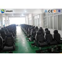 Cheap Entertainment 5D Simulator Cinema Seats With Motion Effect / Electric System for sale