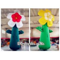 5m Giant Multicolor Inflatable Flower for Event and Shop Decoration