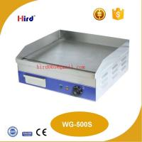China Electric griddle Cast iron griddle Flat griddle Best griddle pan Restaurant supply China suppliers WG-500S on sale