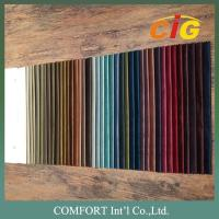 Quality 100% Polyester Home Textile Fabric Velvet Plain Pattern And Embossed Pattern wholesale