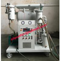 Quality ZY Portable transformer oil purify machine, Water Gas Dirt Removal ,Dielectric Strength Improve, vacuum oil purifier wholesale