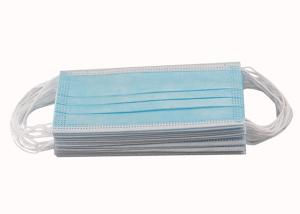 Quality CE FDA 3ply Non Woven Triple Layer Earloop Face Mask wholesale