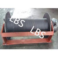 Quality Groove Sleeve Hydraulic Crane Winch 3 MM - 190 MM Wire Diameter wholesale