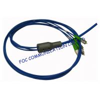 Quality CATV Armored Fiber Optic Assemblies FC / APC Multicore Stable and Reliable wholesale