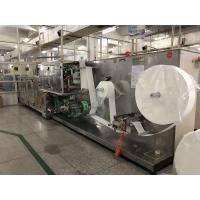 Cheap 10 In One Wet Wipes Making Machine Production Line GM-082S 30bags/min Stacking Speed for sale