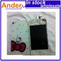 Quality LCD+Touch Hellokitty for Iphone4S+Back Cover wholesale