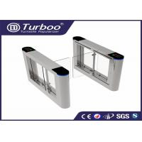 Quality 180 Degree Intelligent Access Control Turnstile Gate , Swing Barrier Gate wholesale