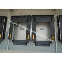 Quality Commercial PVC Doors With Folding Rubber Seal For Logistic Unloading Platform Use wholesale
