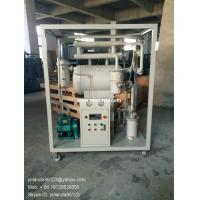 Quality ZY single stage vacuum insulating oil purifier | transformer oil filter plant wholesale