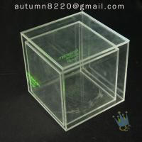 Quality BO (49) clear acrylic case with dividers wholesale