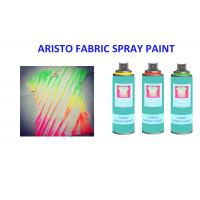 Colorful White Black Silver Fabric Paint Spray for Textile DIY T Shirt Use Eco - friendly