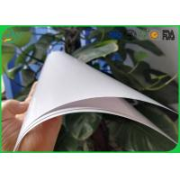 Quality High Glossy Art Paper 2 Side Coated White Color For Book Cover Printing wholesale