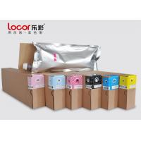 Quality Low Smell 6 Colors Inkjet Printer Ink , Water Based Pigment Ink Weather Resistance wholesale