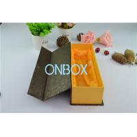 China Wine , Whisky , Alcohol Rigid Cardboard Box With Satin Loose Insert / Magnet Closure on sale