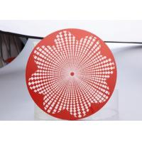 Quality Kitchen Utensils 3003 Aluminum Round Circle Multifunctional Red Painted wholesale