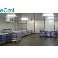 China Custom Frozen Food Storage Warehouses , PU Panel Cold Storage For Tuna Processing on sale