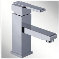 China Advanced design single lever brass body chrome plated faucet on sale