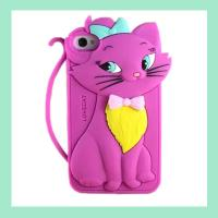 Cheap fashion rabbit silicone iphone case ,silicone covers for iphone4/4s/5/5s for sale