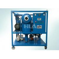 Quality High Voltage Electric Transformer Oil Purifier Machine Horizontal On Line Work wholesale