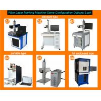 Quality All type 20w fiber lazer marking machine for color and deep mark wholesale