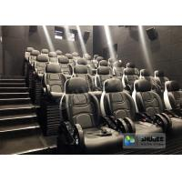Quality Unique 5D Cinema Simulator With Leather Seats And Low Noise Cylinder wholesale