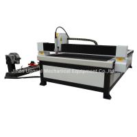 Cheap Steel Tube Steel Plate CNC Plasma Cutting Machine with Rotary Axis 125A for sale