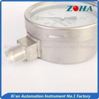 Quality Oil Filled Stainless Steel Pressure Gauge For Chemical Fiber Industry wholesale