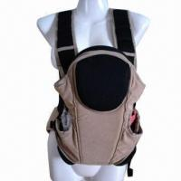 China Baby Carrier with 3 Ways, Breathable Function and EN Standard, Made of Fabric on sale