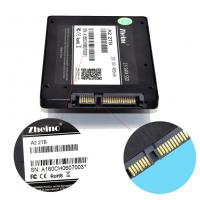 China FCC Rohs Laptop 2.5 SSD Hard Drive Disk 7mm Height 2T Capacity 6 Gb / S A2 on sale