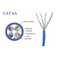 China High Speed Copper Fiber Optic Lan Cable Common Computer Cat6A FTP UTP STP 4 Pair 0.565 LSZH on sale