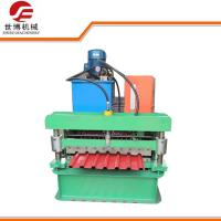 Quality trapezoidal 720 IBR Sheet Roll Forming Machine Automatic PLC Control For Roofing Tile wholesale