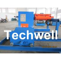 Quality High Speed 0 - 15m/min Uncoiling Speed 5 Ton Automatic Uncoiler / Decoiler Curving Machine wholesale