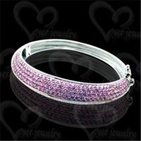 Quality Unique silver bangle fashion jewelry wholesale