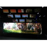Buy cheap 110inch curved Touch Large Screen Built with Win 8 System 10 Points Touch LCD product