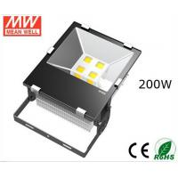 Quality IP65 Waterproof 200W Outdoor Led Flood Lights Tempered Glass for Tunnel Lighting wholesale