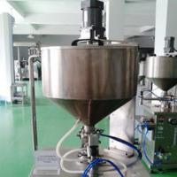 Quality 1000ml  semi-automatic Ointment Filling Machine with Pneumatic Constant Temprature wholesale