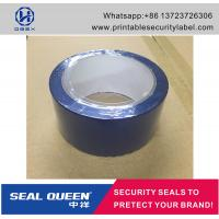Quality Blue / Red Security Seal Tape , 25 Microns Tamper Evident Sealing Tape wholesale