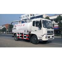 China Commercial Special Purpose Trucks 10000 L Sewage Suction Tanker Truck on sale